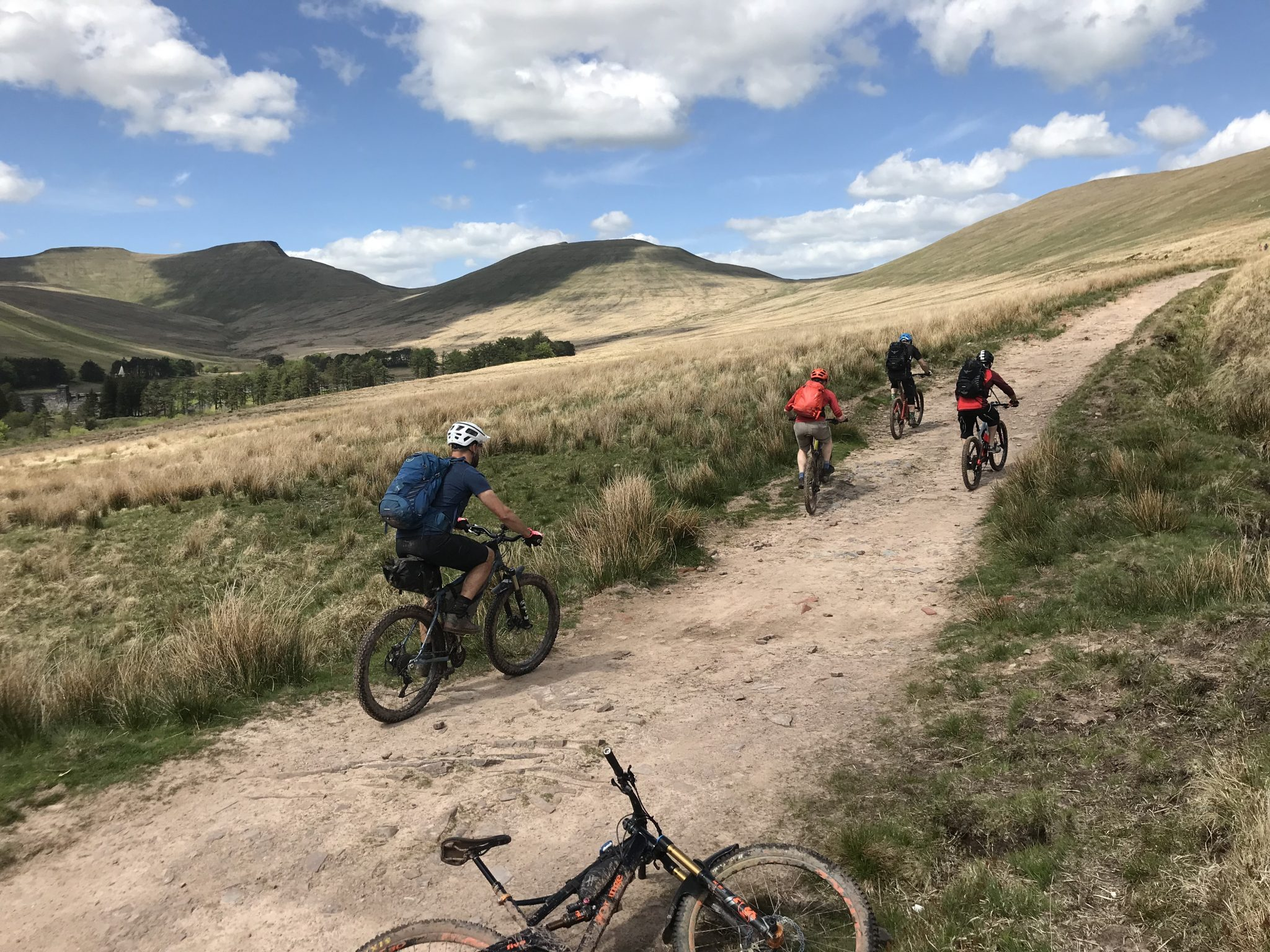 Mountain Bike guiding Guided Ride, Brecon Beacons