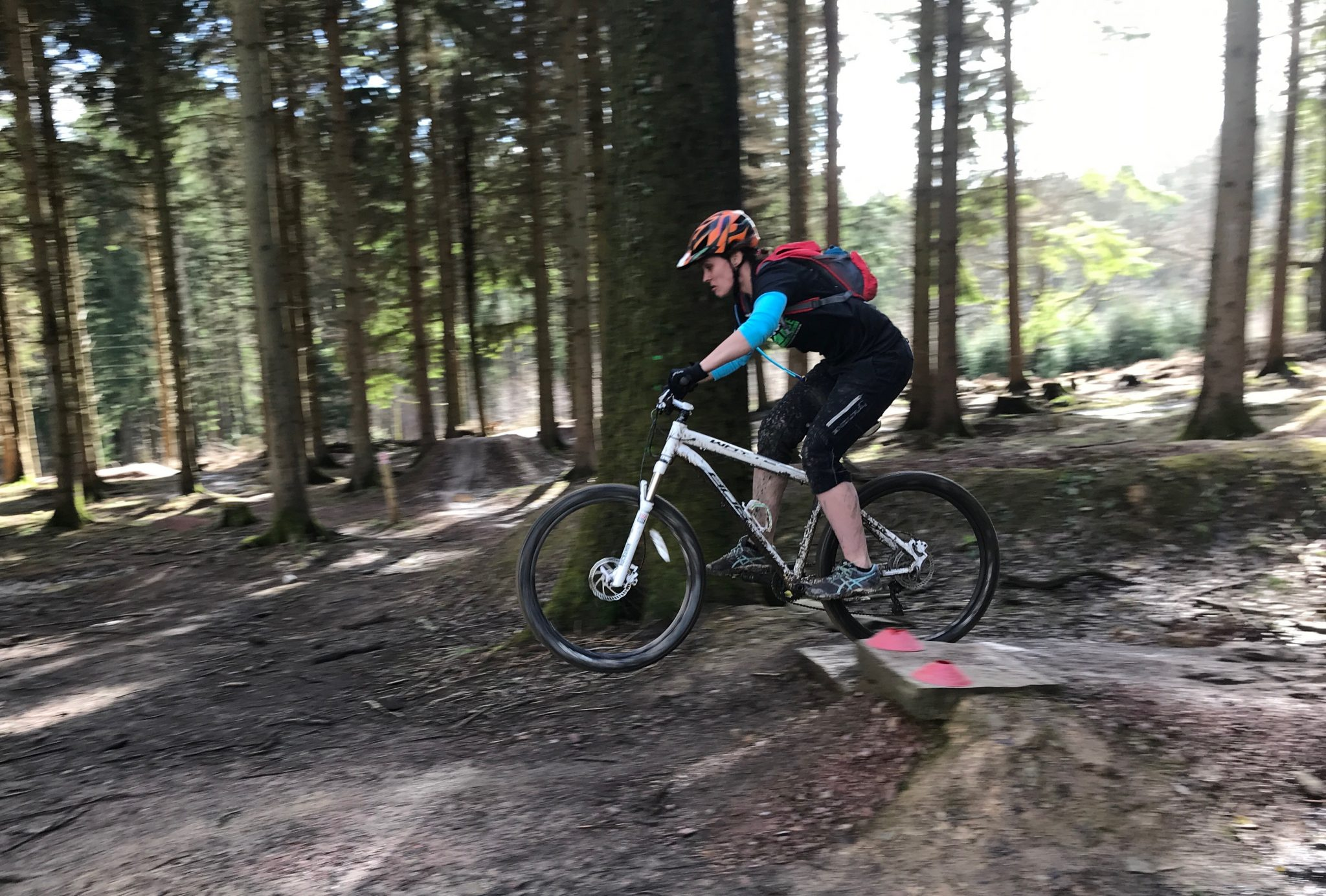 Mountain bike coaching in the Forest of Dean