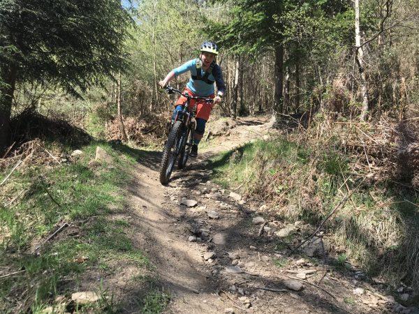 Mountain bike Coaching, South Wales