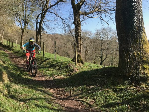 MTB Guided rided, South Wales