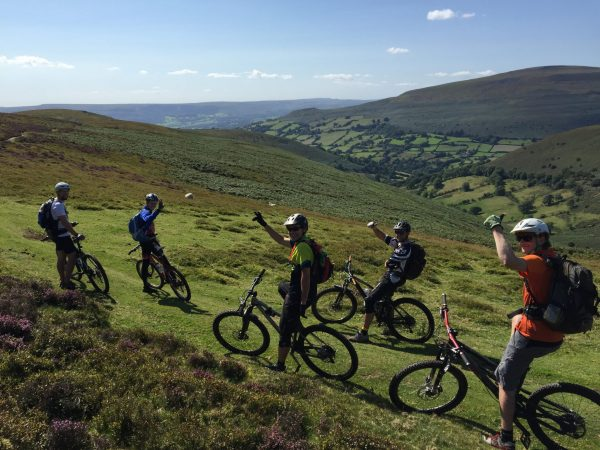 Guiding ride, Black Mountains