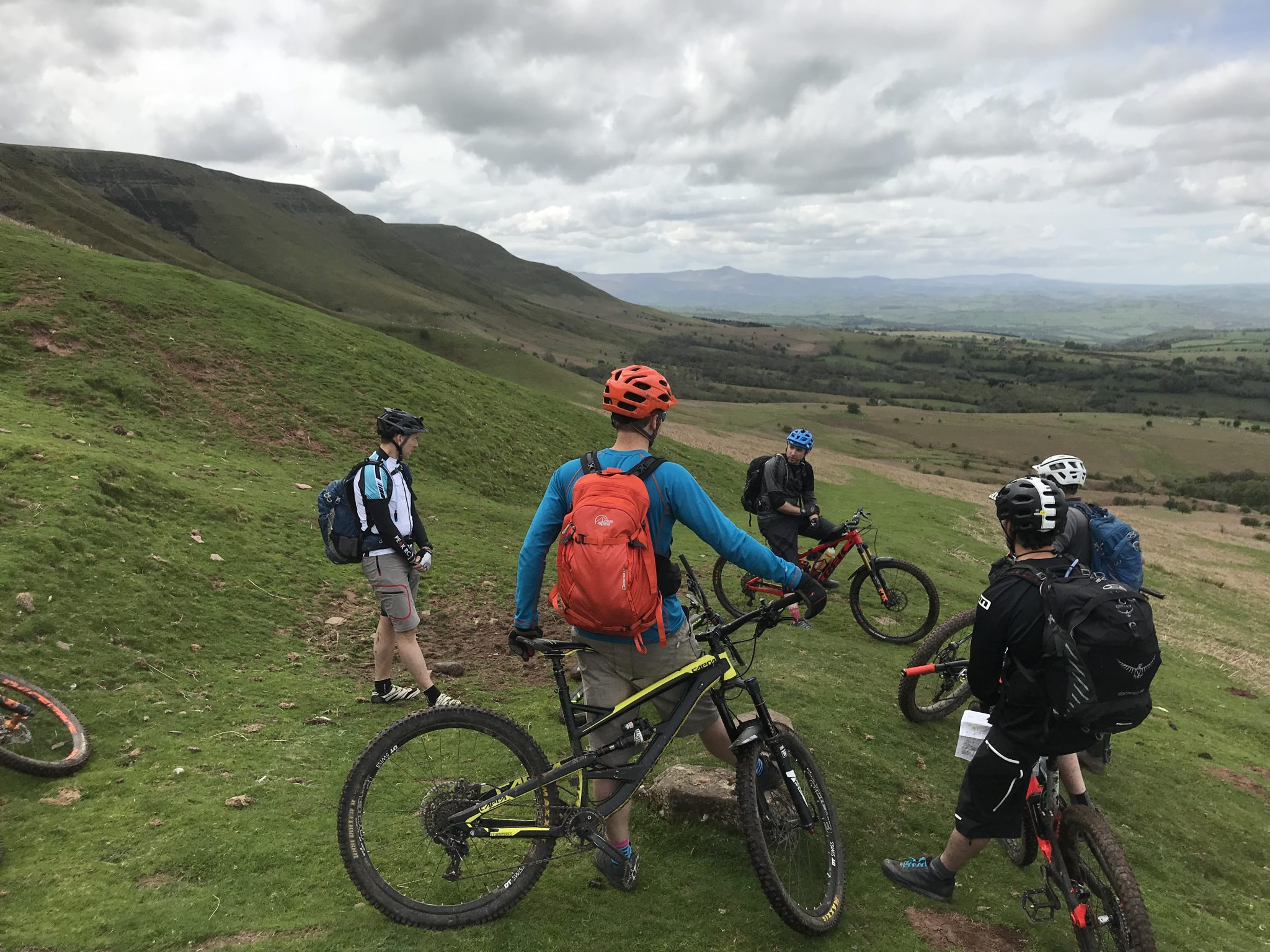 British Cycling Mountain Bike Leadership assessment