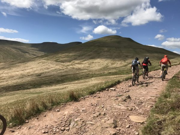 Guided Ride, Brecon Beacons
