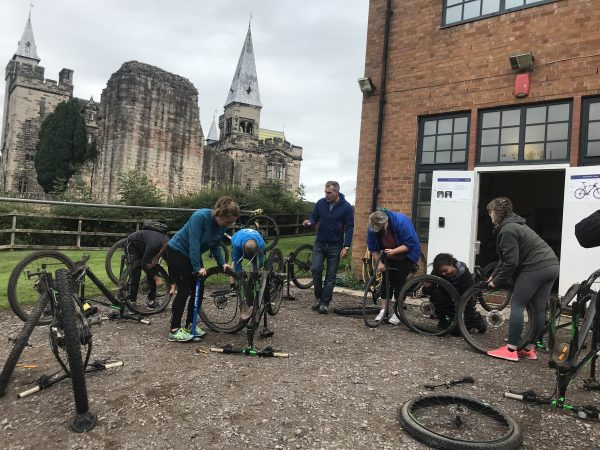 British cycling Mountain bike leadership Level 1 Mountain Bike Leadership