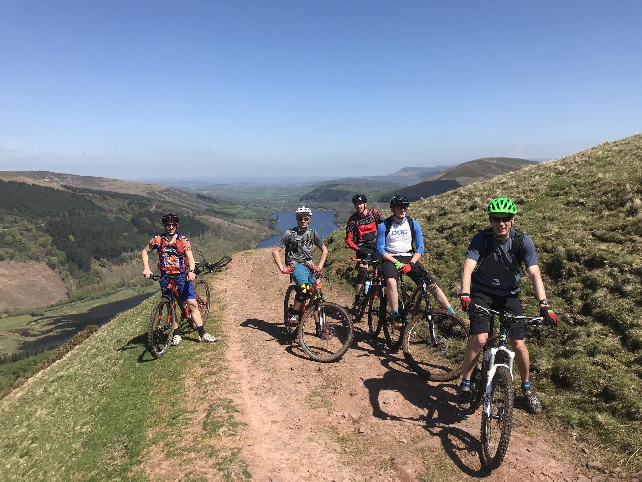 Mountain biking guiding Brecon Beacons Epic