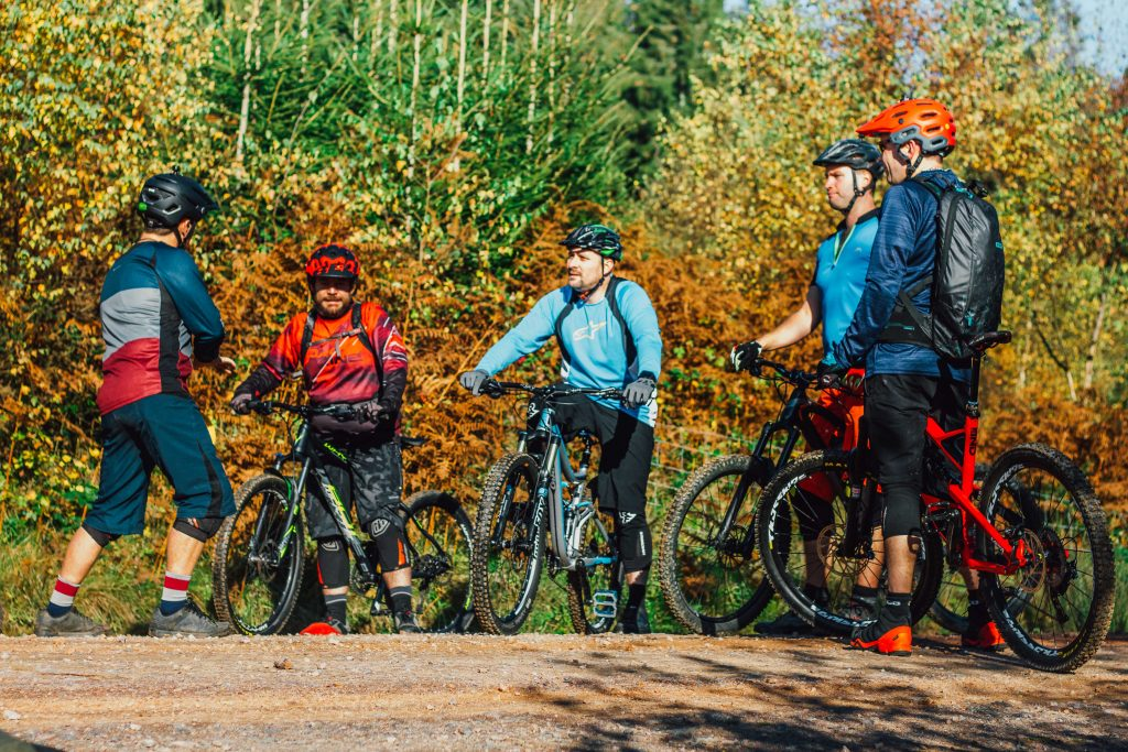 Mountain bike coaching in the Forest of Dean, Group Mountain bike coaching, Mountain bike coaching, MTB coaching, FOD MTB, Forest of dean, South Wales MTB