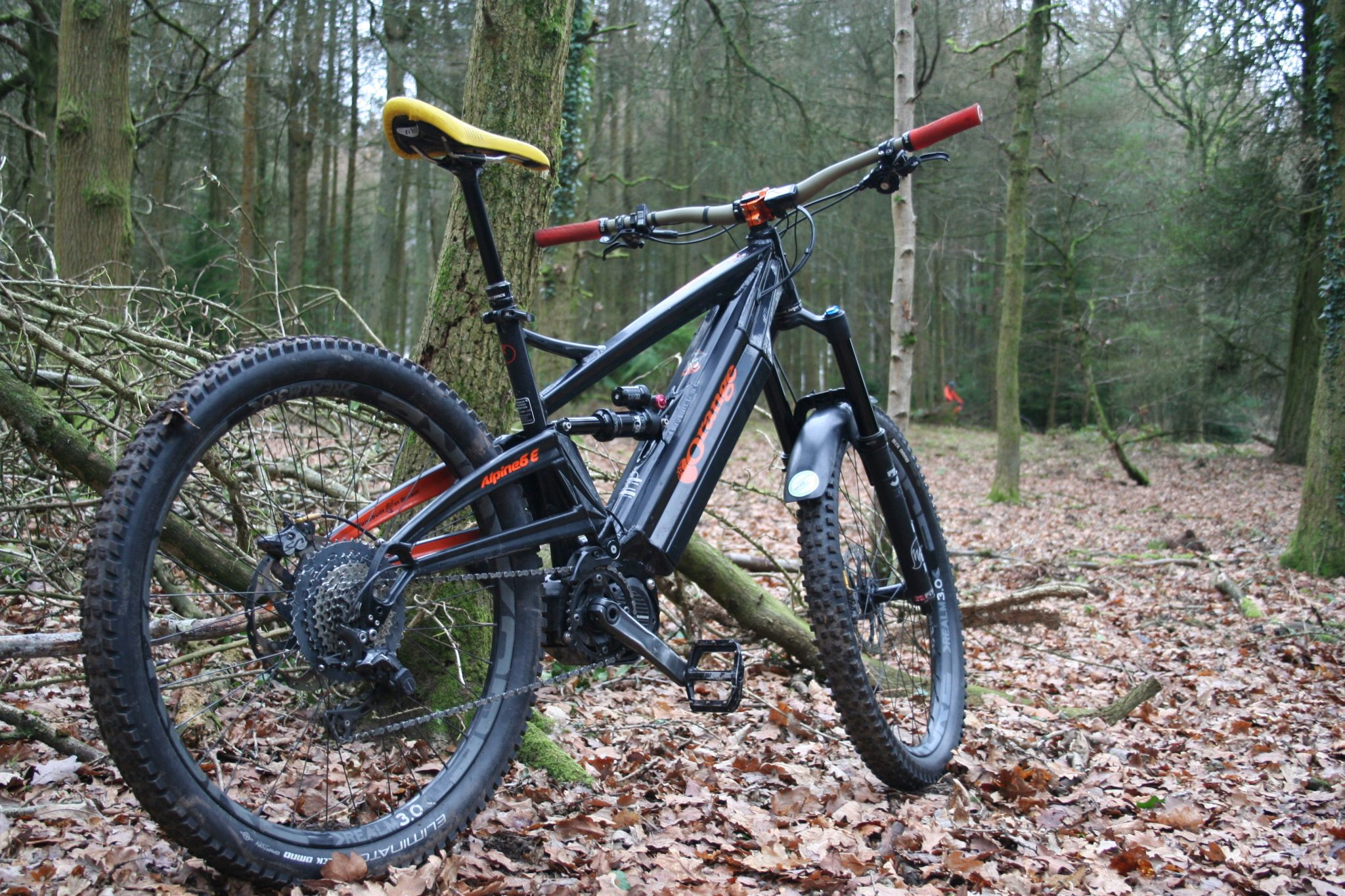 Mountain biking across South wales WyeMTB E Bike Hire fleet