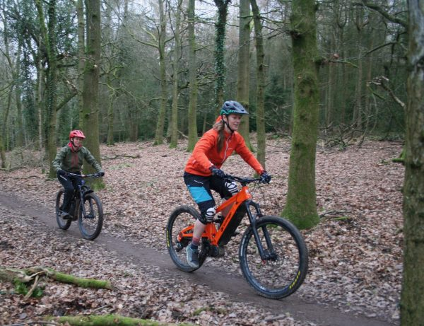 Ebikes, Forest of Dean, Pedalabikeaway, Mountain bike coaching, MTB coaching in the FOD