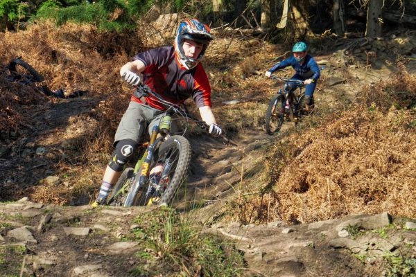 Mountain Bike Coaching in the Forest of Dean, MTB coaching Forest of dean, Enduro racing, MTB skills, Pedalabikeaway, group coaching sessions,