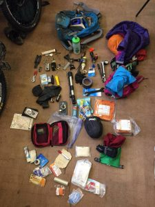 Mountain bike leadership kit