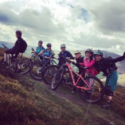 Women only guided rides, Mountain bike guides, Black Mountain, Brecon Beacons, South Wales, Wales, MTB guide