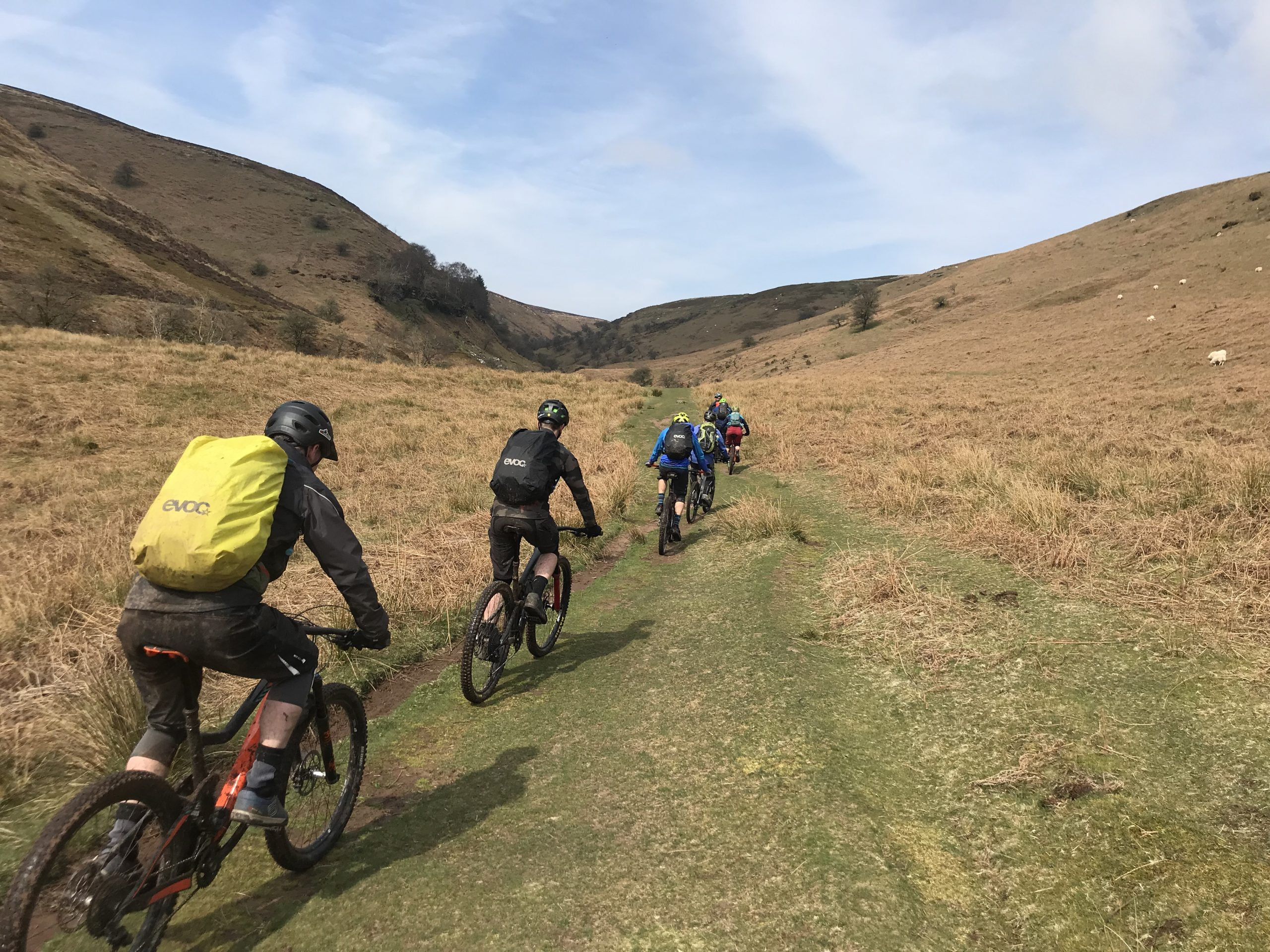 British Cycling Mountain Bike Leadership, South wales, Mountain biking wales, British cycling leadership, Guided ride wales