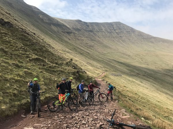 Guided Rides across Wales, MTb adventures, Talybont on usk, Brecon Beacons National park, guided rides Wales, The gap descent, classic MTB rides, Gilwern, Abergavenny