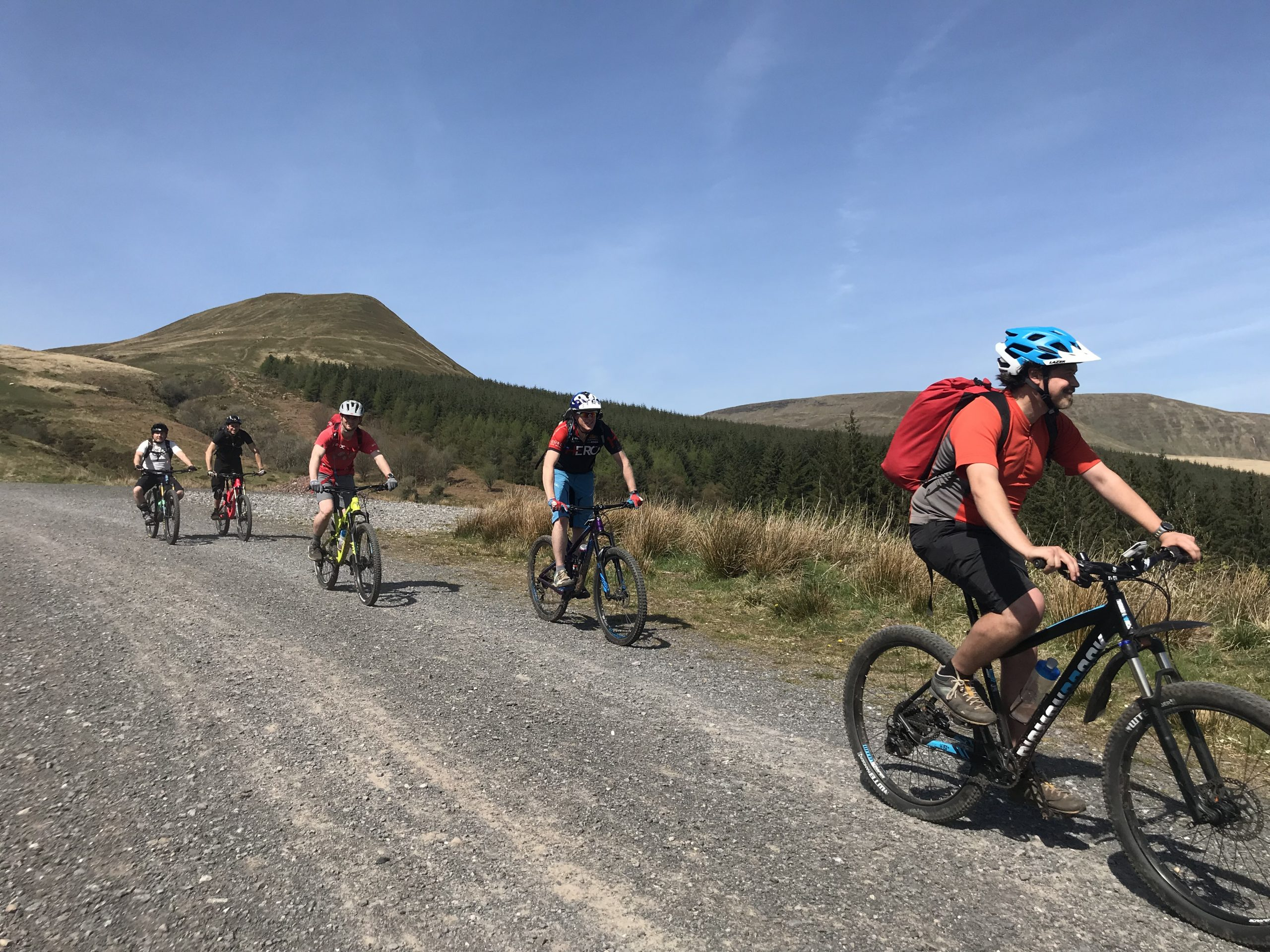 MTB Guided Rides, South Wales, Wye Valley, South wales, MTB guides, Talybont on usk, MTB wales, TRips on bikes, Guided rides South wales