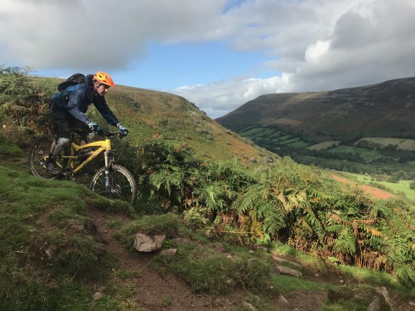 Guided MTB Rides across South Wales, MTB guided rides Wales, find your epic, guided ride, Wye valley MTB routes, Level 2 BC guide