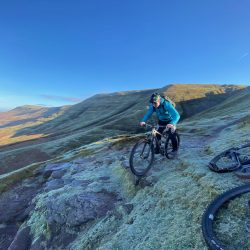 Madison, Whyte Bikes, Guided ride, South Wales, Guiding cross Wales