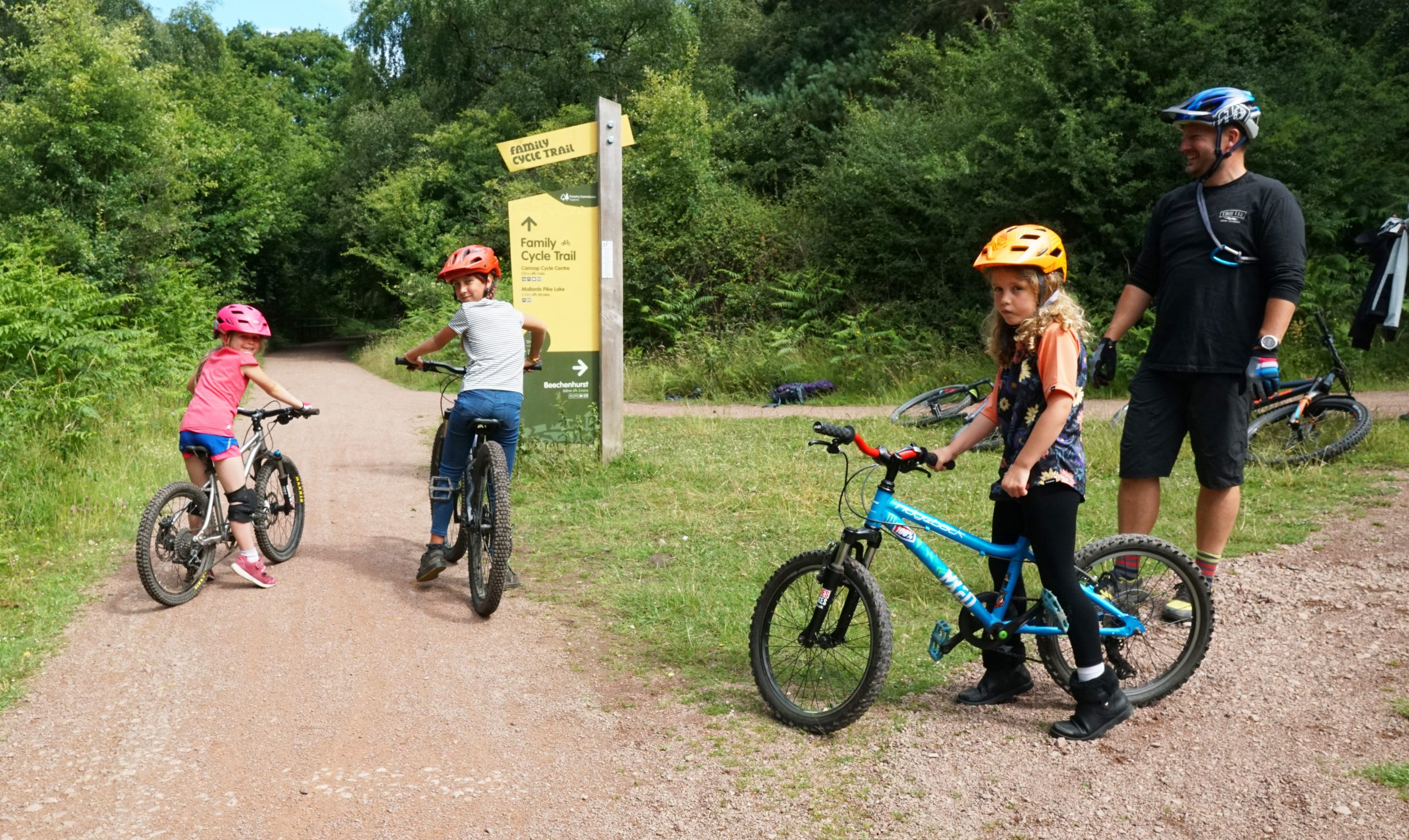 Family guide ride