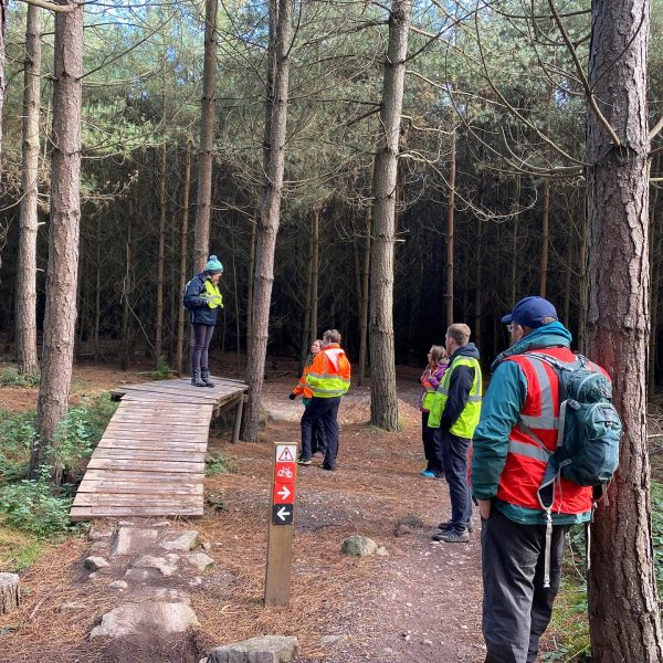 Trail inspection course
